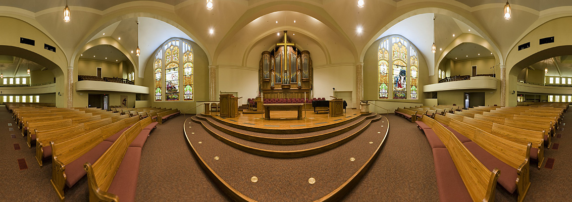 Photographs St Paul Methodist Church Lincoln Panorama